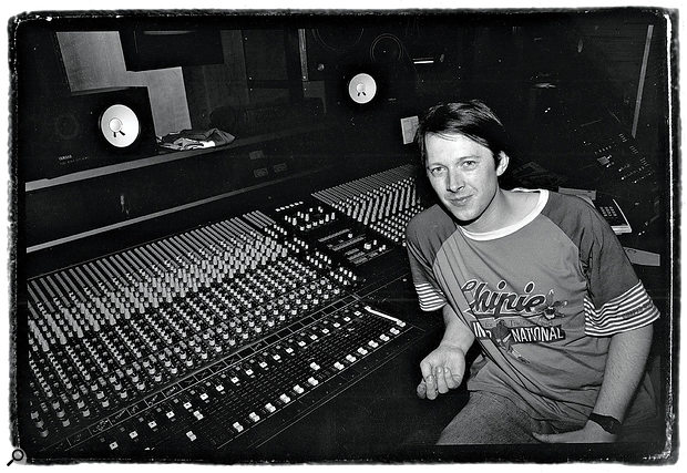 Graham Massey at Square One Studios, 1989.