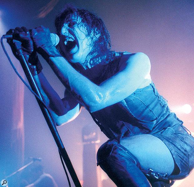 Trent Reznor of Nine Inch Nails.