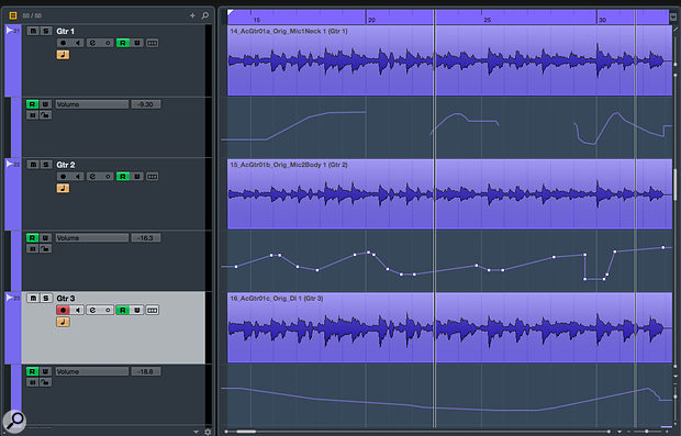 With a comprehensive automation toolset, Cubase Pro lets you fix some things in your mix you probably should have got right beforehand!