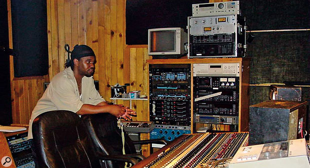Studio A at D&D, Premier's home since the early '90s. Since these shots were taken, Premier has bought the studio.