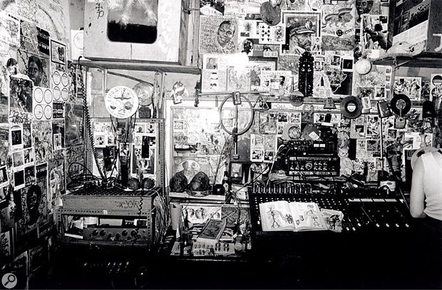 Some of the most famous dub mixes of the '70s came from Lee 'Scratch' Perry's famous Black Ark Studio in Kingston, Jamaica.