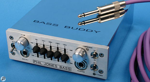 The Bass Buddy includes several useful facilities, including compression and a five-band EQ.