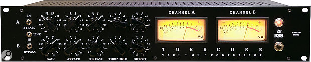 The 'tracking' version of the Tubecore affords the user separate controls over each channel.