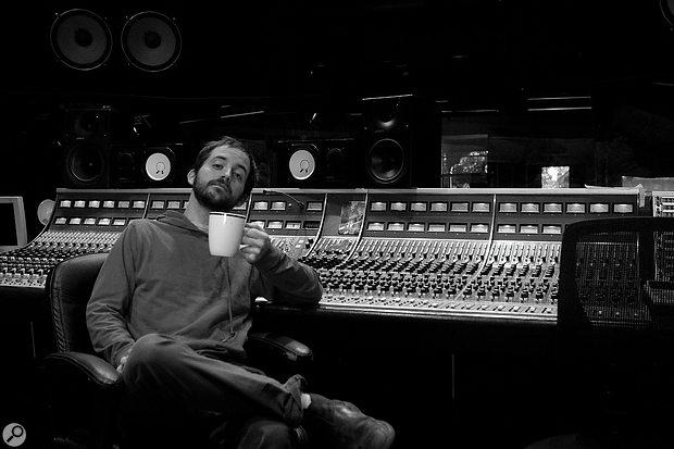 Korey Davey at Dockside Studios in Louisiana.