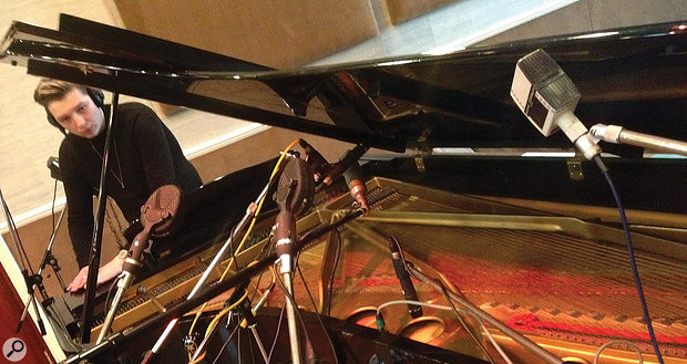 John Newman is no stranger to the recording process.