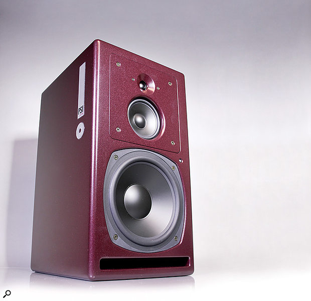 PSI Audio A25M monitors.