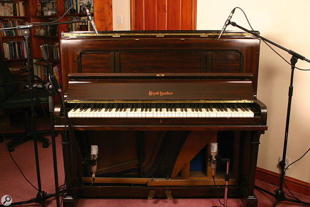 Q How Do You Record Upright Piano Sound On Sound