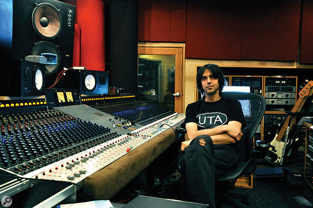 Eric Valentine, whose long list of production/engineering credits includes work with Queens Of The Stone Age, Slash, Maroon 5, Joe Satriani... and many more names you've probably heard of!