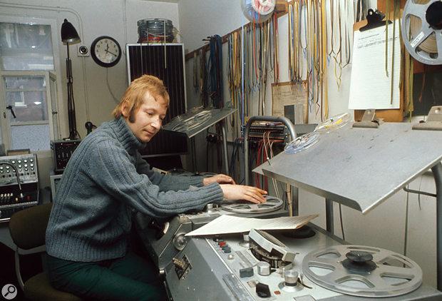 John Baker was another stalwart Radiophonic Workshop composer.