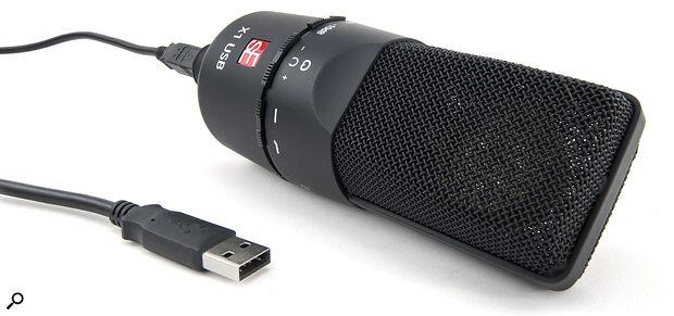 SE Electronics SE X1 USB capacitor mic