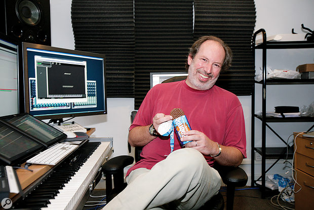 World‑renowned film composer Hans Zimmer, this month's Studio SOS candidate.