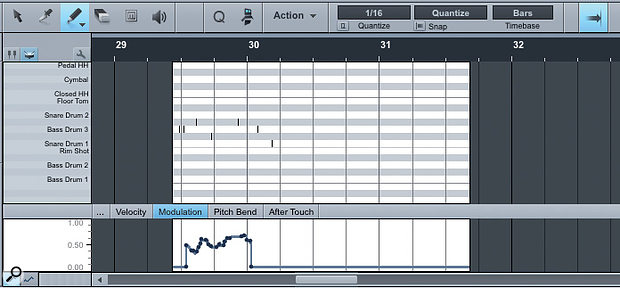 4. Part automation is different to Track automation. It resides in the Music Editor, and the automation travels with the Part.
