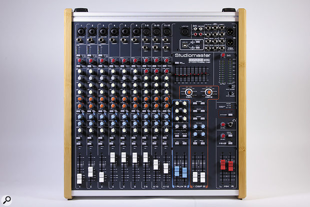 All of the audio connections reside on the top panel, apart from the amplifier Speakon outputs, which sit around the back.