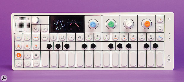 Teenage Engineering OP1 synthesiser/sampler/sequencer.