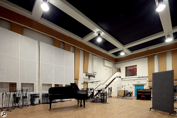 Abbey Road Studios.
