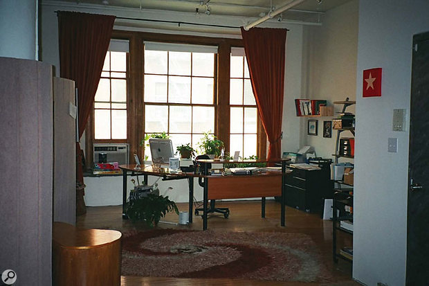 When you're dealing with high-flying corporate types, it's crucial that your studio looks as good as it sounds.