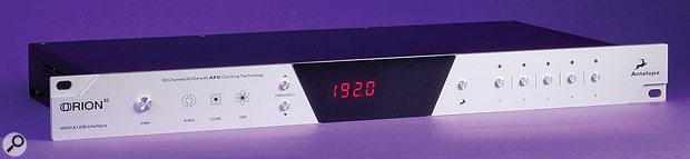 Antelope Audio Orion 32 USB audio interface.