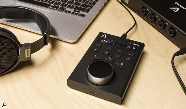 Apogee Control remote for Element audio interfaces.