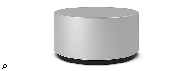 The Surface Dial in all its minimalist glory.