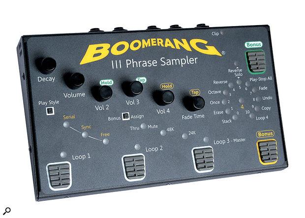 Boomerang III Phrase Sampler.