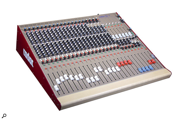 Cadac Live 1 mixing console.