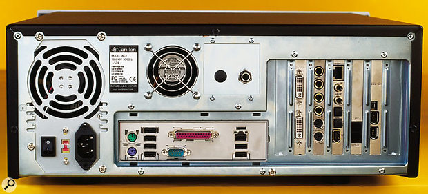 The Core 4 provides six rear-panel USB ports without using up a PCI slot, although there's no integral Firewire support on the Intel motherboard, meaning that a PCI Firewire card is included.