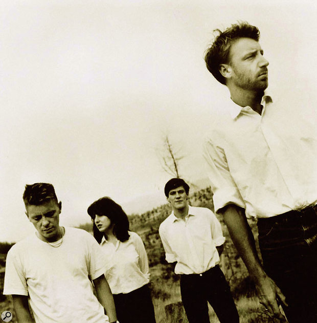 New Order as they were at the time 'True Faith' was released: from left, Bernard Sumner, Gillian Gilbert, Stephen Morris and Peter 'Hooky' Hook.