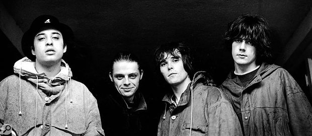 The Stone Roses: Alan 'Reni' Wren, Gary 'Mani' Mounfield, Ian Brown and John Squire.