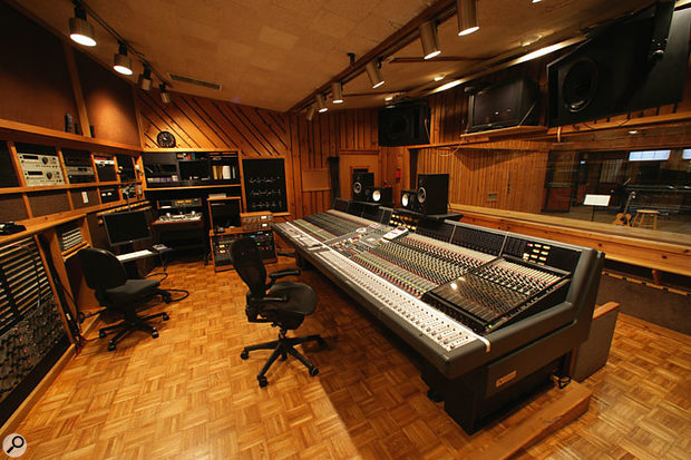 The control room in Studio C as it is today. The Power Station was renamed Avatar Studios in 1996 and continues to enjoy a reputation as one of the world's best recording studios.