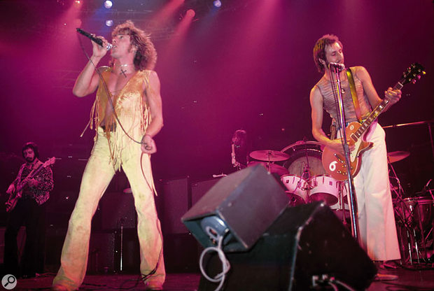 The Who live in New York, circa 1977.