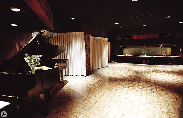 The live area at Westlake Studio A, which Bill Bottrell made a point of using to track vocals and other instruments.