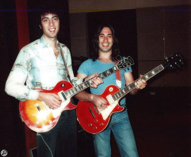 Graham Gouldman and Lol Creme, Strawberry Studios, 1975.