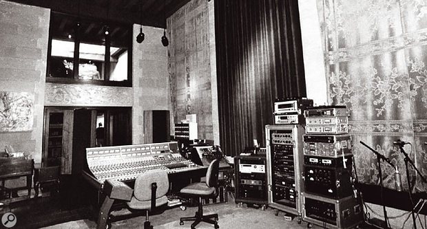 As a response to the claustrophobic recording enviroments he encountered on projects like the Dangerous album, Bill Bottrell established a one-room studio called Toad Hall, where the emphasis would be on capturing the feeling of live performances.