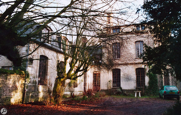The Chateau d'Herouville as it looks today. This is the left wing.