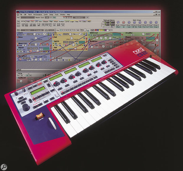 Like its predecessor, the G2 is controlled by very DSP-light front-end software, all the synthesis calculations taking place in the hardware keyboard.