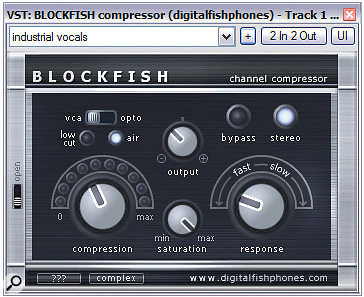 These three compressors (Digital Fishphones' Blockfish and Tin Brooke Tales' TLS 2095 LA and TLS 3127 LEA) all sound quite different even for similar amounts of gain reduction — and you don't need to know why this is to take advantage of it.