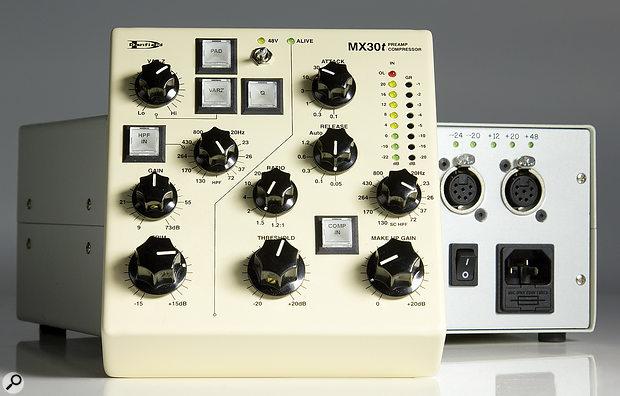 Danfield Audio MX30T preamp/compressor.