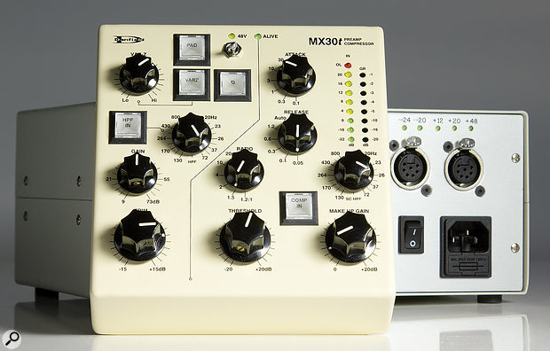 Danfield Audio MX30T preamp/compressor.