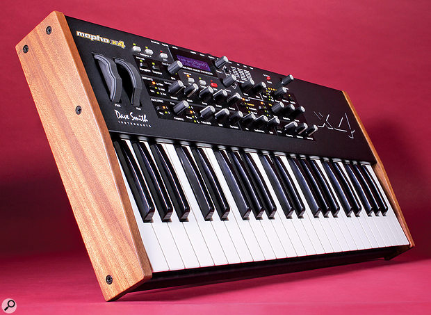 Dave Smith Instruments Mopho X4 synthesizer.
