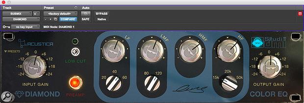 Acustica Audio Diamond Color-EQ