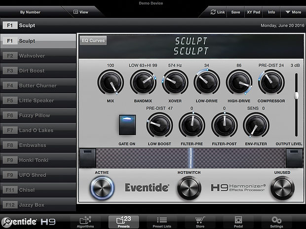 Eventide Sculpt (for the H9 pedal)