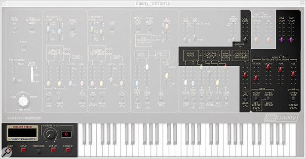 Figure 20: The Oddity recorder: amplifier.
