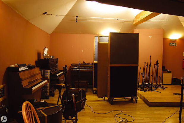 The live room at Fortress.