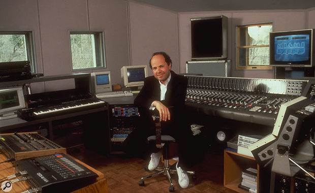 Jan in his studio, 1988.