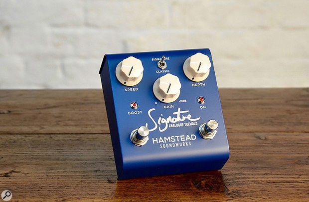 Hamstead Soundworks Signature Analogue Tremolo Guitar Effects Pedal
