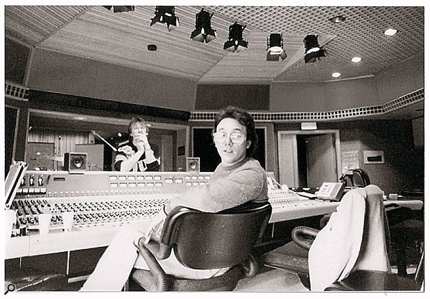 Trevor Horn, taken in the early 1980s.