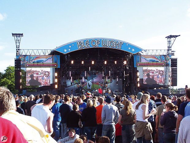 The Isle Of Wight Festival Sound