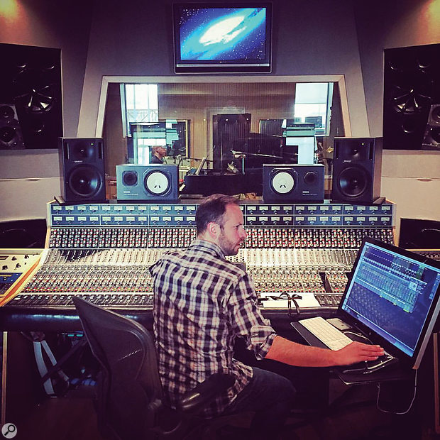 Derik Lee was the recording engineer charged with capturing 46 songs in two weeks.