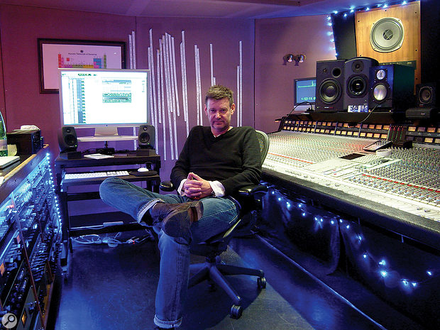 Alan Moulder at Assault & Battery Studio in London, where Celebration Day was mixed partly in Pro Tools and partly on the SSL desk.