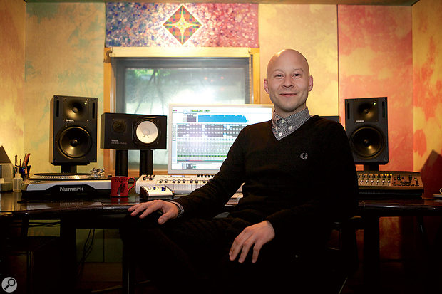 Duncan Mills in Studio 5 at Strongroom.